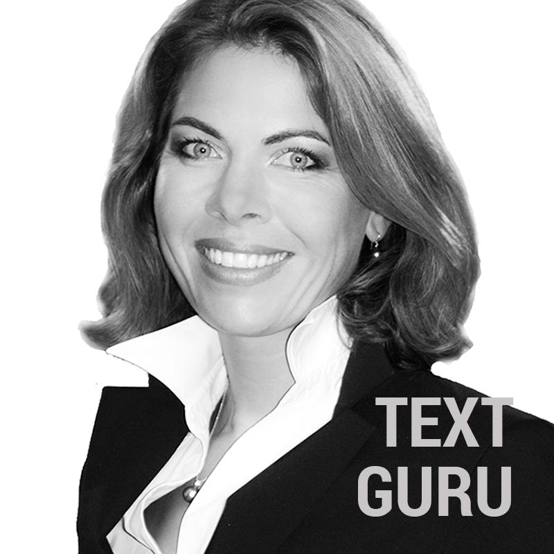 Angelika - UNSER TEXT-GURU - der Werbeagentur SchwarzWestphal