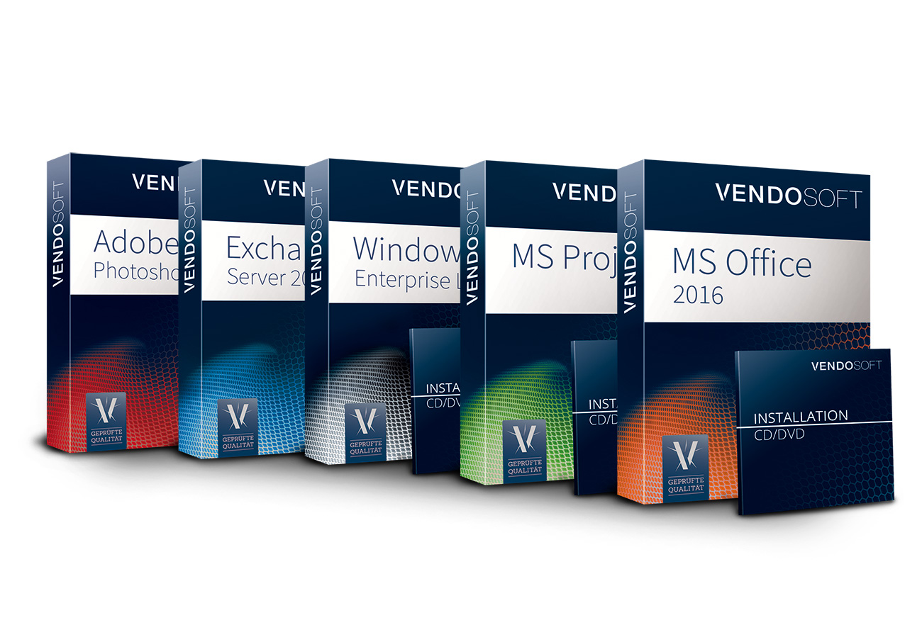 VENDOSOFT Software-Boxen